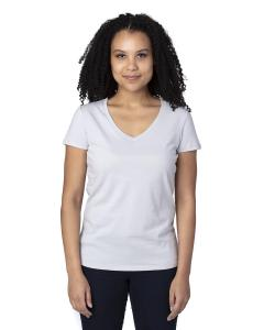 Silver Ladies' Ultimate V-Neck T-Shirt