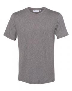 Heather Grey Cool Last Heathered Lux T-Shirt