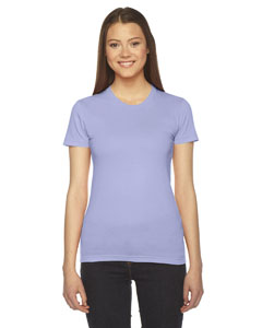 Lavender Ladies' Fine Jersey Short-Sleeve T-Shirt