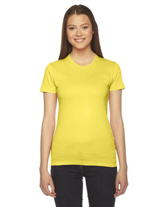 Sunshine Ladies' Fine Jersey Short-Sleeve T-Shirt