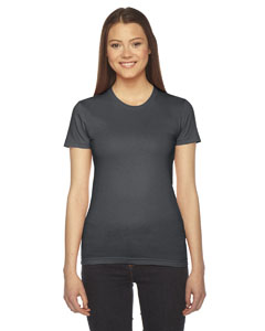 Asphalt Ladies' Fine Jersey Short-Sleeve T-Shirt