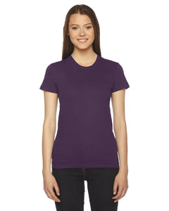 Eggplant Ladies' Fine Jersey Short-Sleeve T-Shirt