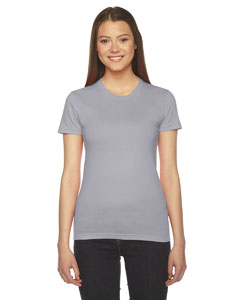 Slate Ladies' Fine Jersey Short-Sleeve T-Shirt