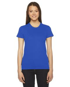 Royal Blue Ladies Fine Jersey Short-Sleeve T-Shirt