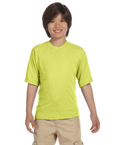 Safety Green Youth 5.3 oz. DRI-POWER® SPORT T-Shirt