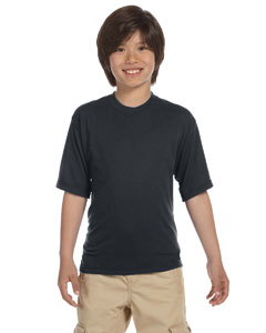 Charcoal Grey Youth 5.3 oz., 100% Polyester SPORT with Moisture-Wicking T-Shirt