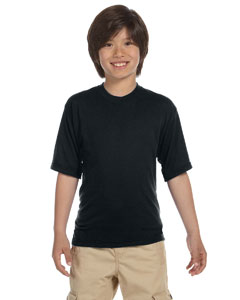 Black Youth 5.3 oz. DRI-POWER® SPORT T-Shirt