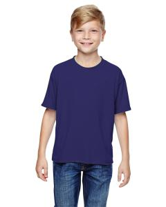 Deep Purple Youth 5.3 oz. DRI-POWER® SPORT T-Shirt
