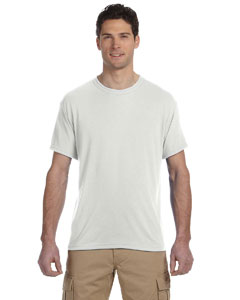 White 5.3 oz., 100% Polyester SPORT with Moisture-Wicking T-Shirt