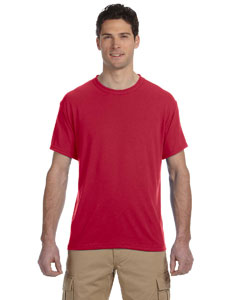 True Red 5.3 oz., 100% Polyester SPORT with Moisture-Wicking T-Shirt