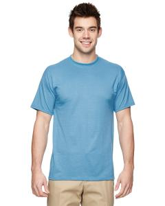 Light Blue 5.3 oz., 100% Polyester SPORT with Moisture-Wicking T-Shirt