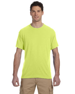 Safety Green 5.3 oz., 100% Polyester SPORT with Moisture-Wicking T-Shirt