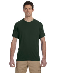Forest Green 5.3 oz., 100% Polyester SPORT with Moisture-Wicking T-Shirt