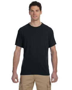 Black 5.3 oz., 100% Polyester SPORT with Moisture-Wicking T-Shirt