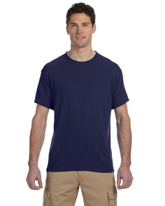 J Navy 5.3 oz., 100% Polyester SPORT with Moisture-Wicking T-Shirt