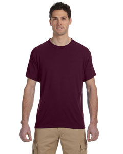 Maroon 5.3 oz., 100% Polyester SPORT with Moisture-Wicking T-Shirt