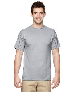 Silver 5.3 oz., 100% Polyester SPORT with Moisture-Wicking T-Shirt