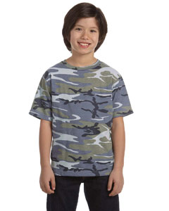 Code VYouth Camouflage T-Shirt Style #2206