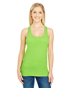 Active Green Ladies' Spandex Performance Racer Tank