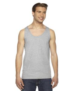 Heather Grey Unisex Fine Jersey Tank