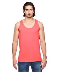 Coral Unisex Power Washed Tank