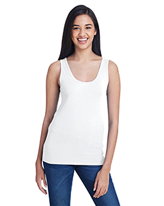 White Ladies Stretch Tank