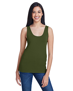 City Green Ladies Stretch Tank