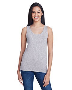 Heather Grey Ladies Stretch Tank