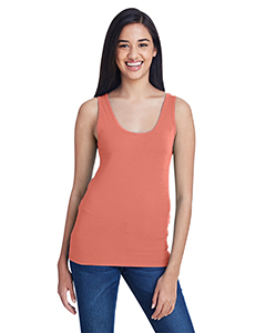 Terracotta Ladies Stretch Tank