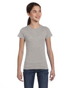 Heather Girls' Fine Jersey T-Shirt