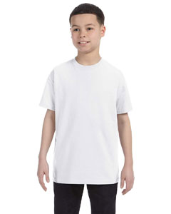White Youth 5.6 oz., 50/50 Heavyweight Blend™ T-Shirt