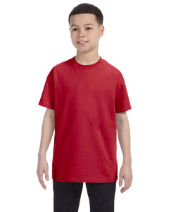 True Red Youth 5.6 oz., 50/50 Heavyweight Blend™ T-Shirt