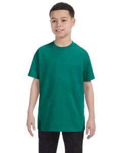 Jade Youth 5.6 oz., 50/50 Heavyweight Blend™ T-Shirt