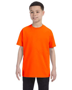 Safety Orange Youth 5.6 oz., 50/50 Heavyweight Blend™ T-Shirt