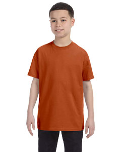 Texas Orange Youth 5.6 oz., 50/50 Heavyweight Blend™ T-Shirt