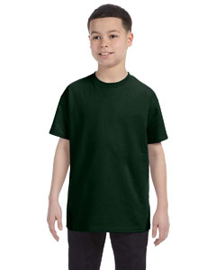 Forest Green Youth 5.6 oz., 50/50 Heavyweight Blend™ T-Shirt