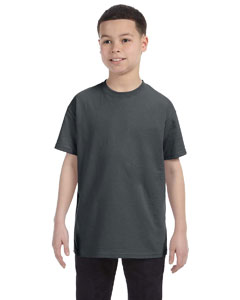Charcoal Grey Youth 5.6 oz., 50/50 Heavyweight Blend™ T-Shirt