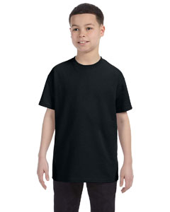 Black Youth 5.6 oz., 50/50 Heavyweight Blend™ T-Shirt