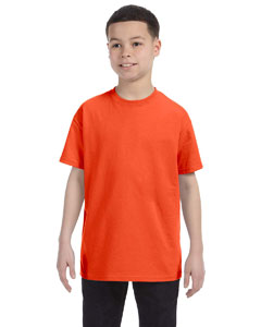 Burnt Orange Youth 5.6 oz., 50/50 Heavyweight Blend™ T-Shirt