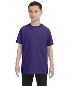 Deep Purple Youth 5.6 oz., 50/50 Heavyweight Blend™ T-Shirt