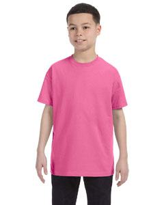 Neon Pink Youth 5.6 oz., 50/50 Heavyweight Blend™ T-Shirt
