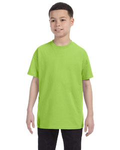 Neon Green Youth 5.6 oz., 50/50 Heavyweight Blend™ T-Shirt