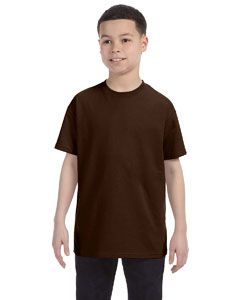 Chocolate Youth 5.6 oz., 50/50 Heavyweight Blend™ T-Shirt