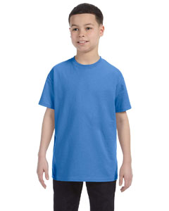 Columbia Blue Youth 5.6 oz., 50/50 Heavyweight Blend™ T-Shirt