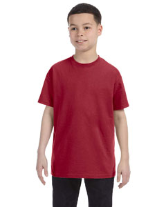 Crimson Youth 5.6 oz., 50/50 Heavyweight Blend™ T-Shirt