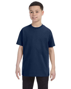 Vintage Hth Navy Youth 5.6 oz., 50/50 Heavyweight Blend™ T-Shirt