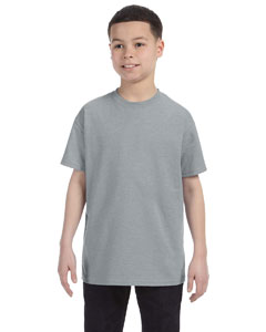 Athletic Heather Youth 5.6 oz., 50/50 Heavyweight Blend™ T-Shirt
