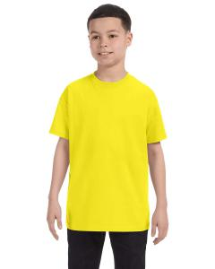 Neon Yellow Youth 5.6 oz., 50/50 Heavyweight Blend™ T-Shirt