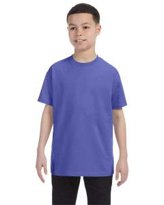 Violet Youth 5.6 oz., 50/50 Heavyweight Blend™ T-Shirt