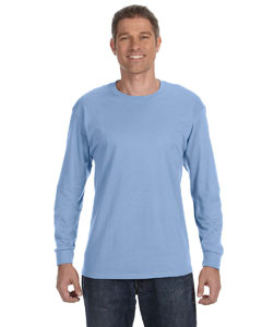 Light Blue 5.6 oz., 50/50 Heavyweight Blend™ Long-Sleeve T-Shirt